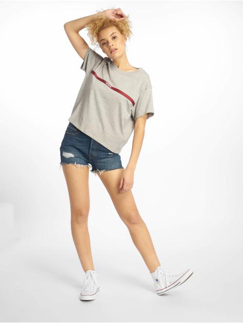 Levi's® T-Shirt Graphic Varsity Text Tape grau