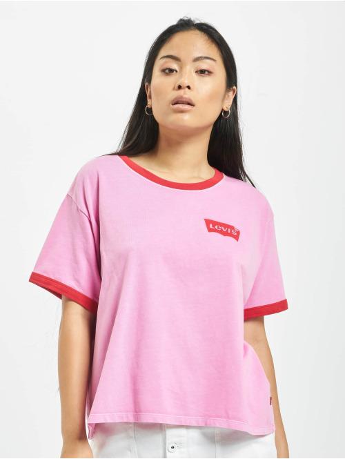 Levi's® T-Shirt Graphic Ringer pink