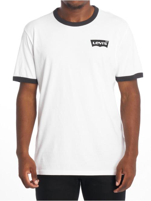 Levi's® T-Shirt Ss Ringer weiß