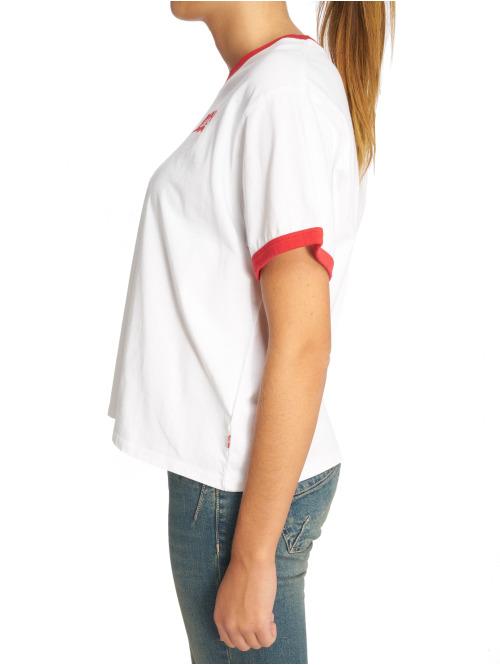 Levi's® T-Shirt Graphic Ringer weiß
