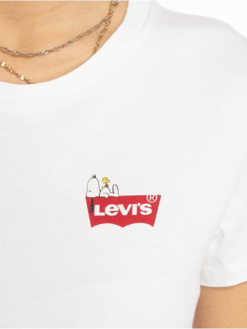 Levi's® T-Shirt The Perfect Tee Peanuts weiß