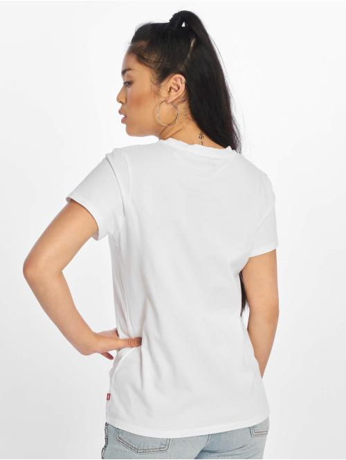 Levi's® T-Shirt The Perfect New Red Box Tab weiß