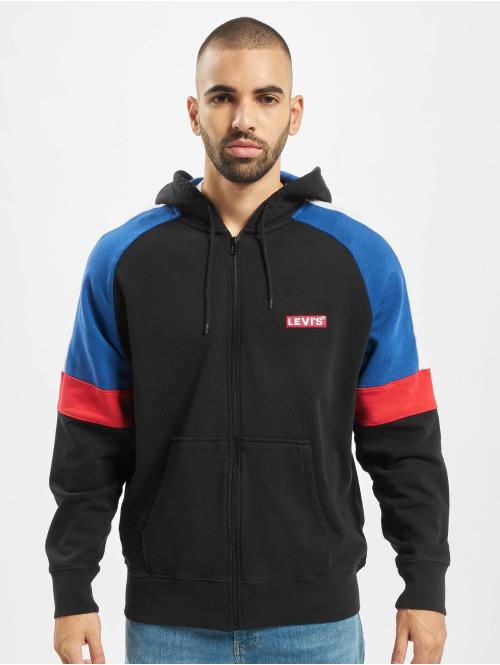 Levi's® Zip Hoodie Pieced schwarz