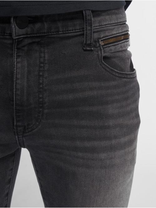 Mavi Jeans Skinny Jeans Leo Cropped grau