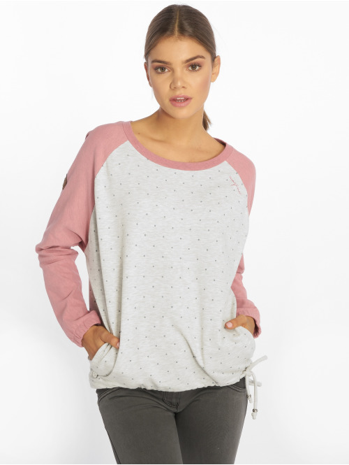 Mazine Pullover Batwing rosa