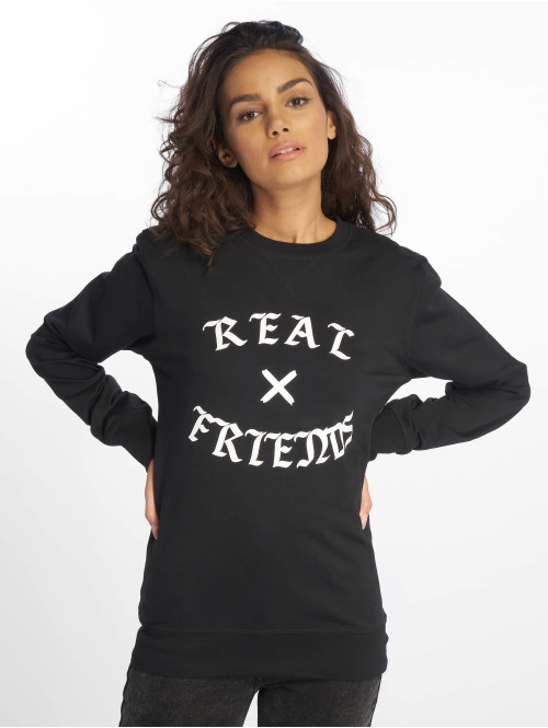 Mister Tee Hoody Real Friends schwarz
