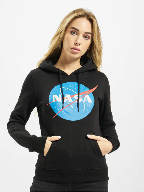 Mister Tee Hoody Ladies NASA Insignia schwarz
