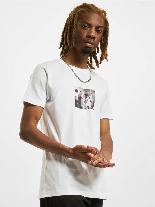 Mister Tee T-Shirt Peanutbutter weiß