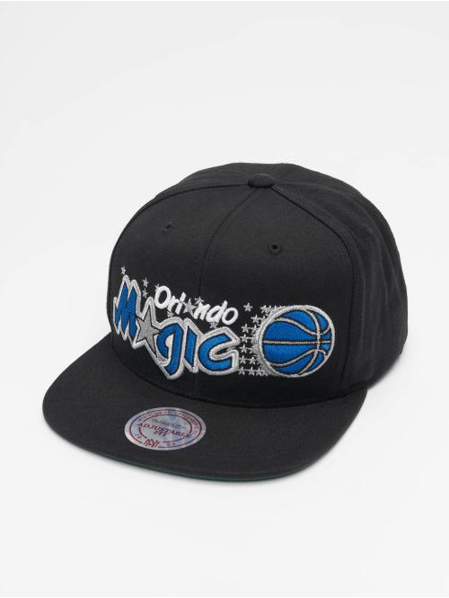 Mitchell & Ness Snapback Cap NBA Orlando Magic Wool Solid schwarz