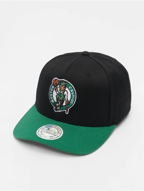 Mitchell & Ness Snapback Cap NBA Boston Celtics 110 2 Tone schwarz