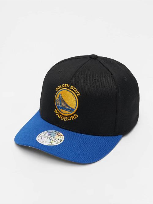 Mitchell & Ness Snapback Cap NBA Golden State Warriors 110 2 Tone schwarz