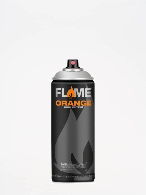 Molotow Краска аэрозольная Flame Orange 400ml Spray Can 902 Ultra-Chrom серебро