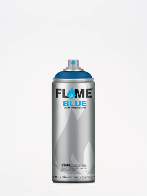 Molotow Spray Cans Flame Blue 400ml Spray Can 520 Cremeblau Dunkel blue