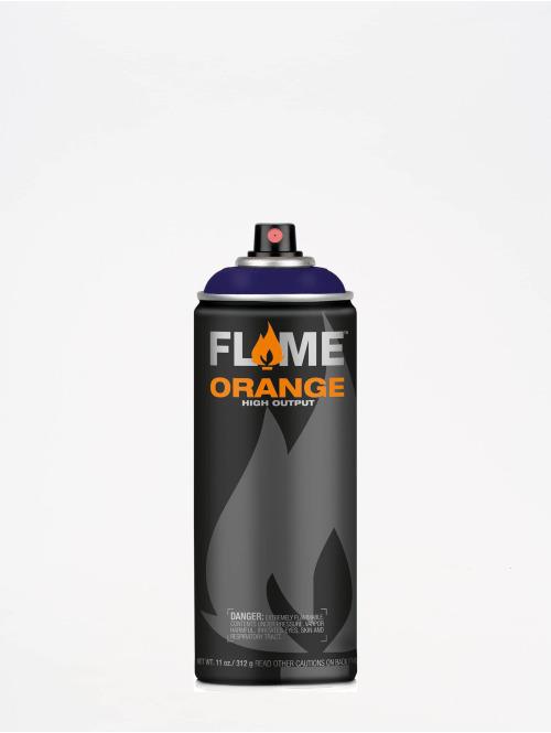 Molotow Spray Cans Flame Orange 400ml Spray Can 428 Kosmosblau Dunkel blue