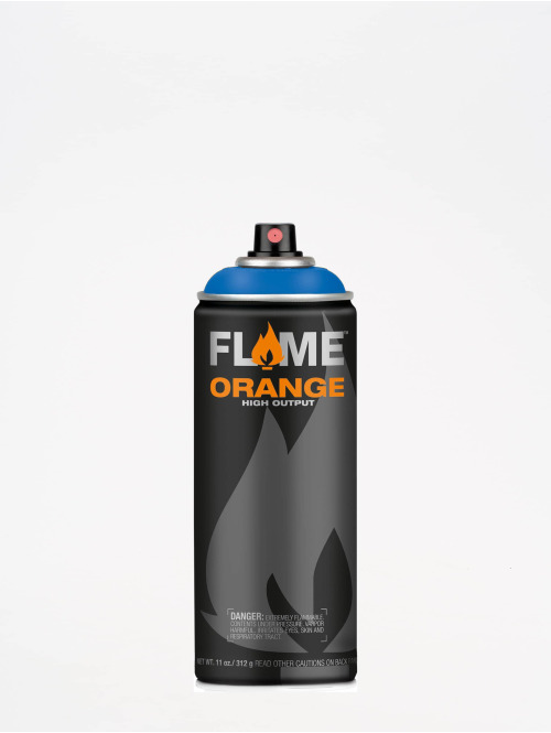 Molotow Spray Cans Flame Orange 400ml Spray Can 510 Himmelblau blue