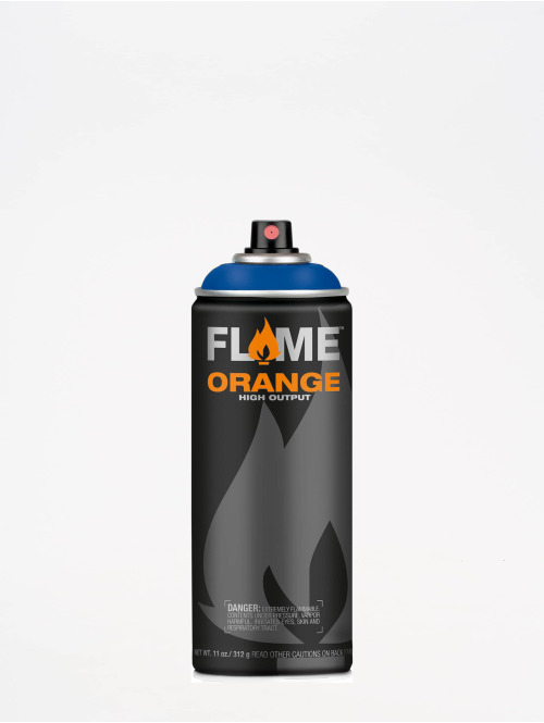 Molotow Spray Cans Flame Orange 400ml Spray Can 512 Signalblau blue