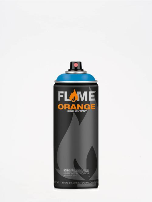 Molotow Spray Cans Flame Orange 400ml Spray Can 511 Crazy Blue blue