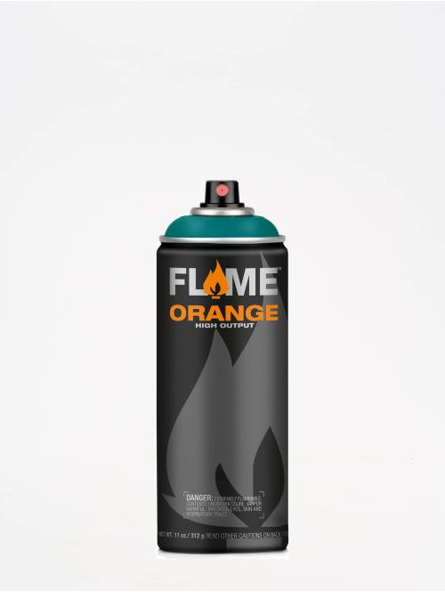 Molotow Spray Cans Flame Orange 400ml Spray Can 606 Ozeanblau blue