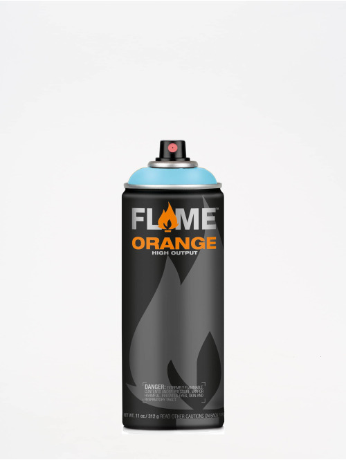 Molotow Spray Cans Flame Orange 400ml Spray Can 614 Aqua Pastell blue
