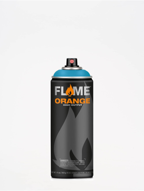 Molotow Spray Cans Flame Orange 400ml Spray Can 616 Aqua Hell blue