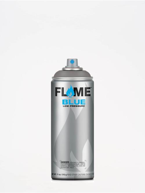 Molotow Spray Cans Flame Blue 400ml Spray Can 840 Dunkelgrau Neutral gray