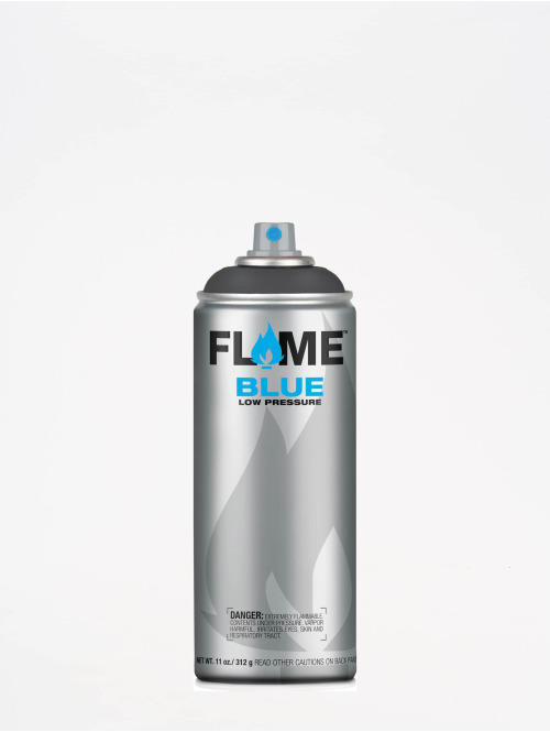Molotow Spray Cans Flame Blue 400ml Spray Can 844 Anthrazitgrau gray