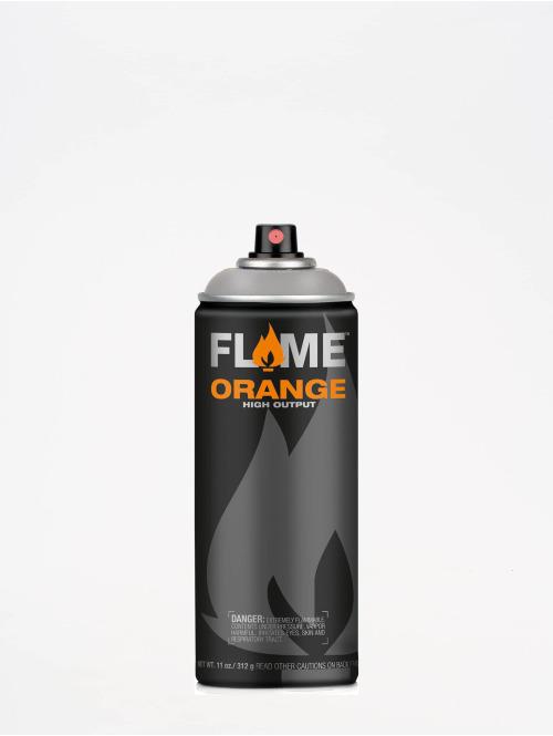 Molotow Spray Cans Flame Orange 400ml Spray Can 836 Mittelgrau Neutral gray