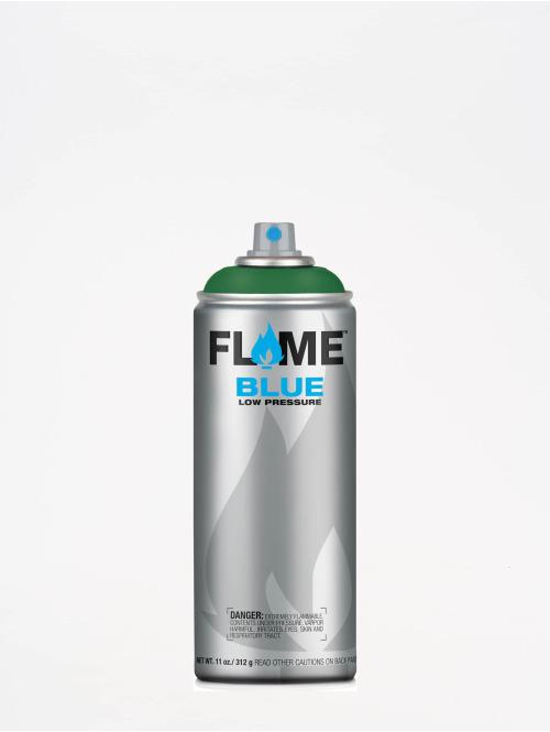 Molotow Spray Cans Flame Blue 400ml Spray Can 634 Moosgrün green