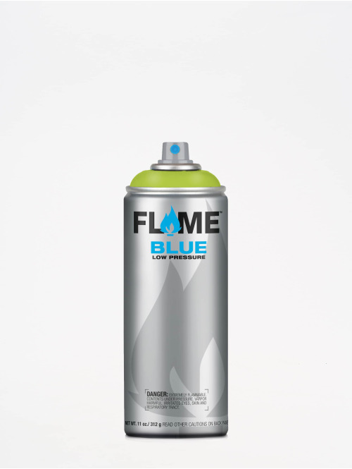 Molotow Spray Cans Flame Blue 400ml Spray Can 640 Kiwi Hell green