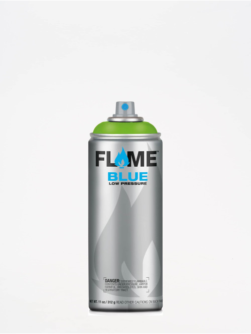 Molotow Spray Cans Flame Blue 400ml Spray Can 642 Kiwi green