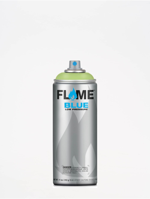 Molotow Spray Cans Flame Blue 400ml Spray Can 654 Frühlingsgrün green