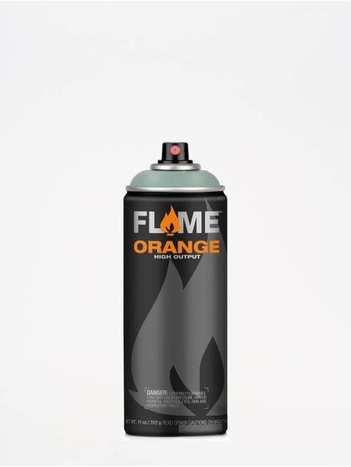 Molotow Spray Cans Flame Orange 400ml Spray Can 608 Salbei Mittel green
