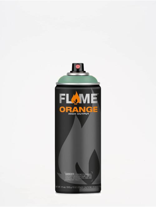 Molotow Spray Cans Flame Orange 400ml Spray Can 609 Salbei green