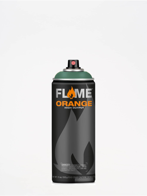 Molotow Spray Cans Flame Orange 400ml Spray Can 610 Salbei Dunkel green