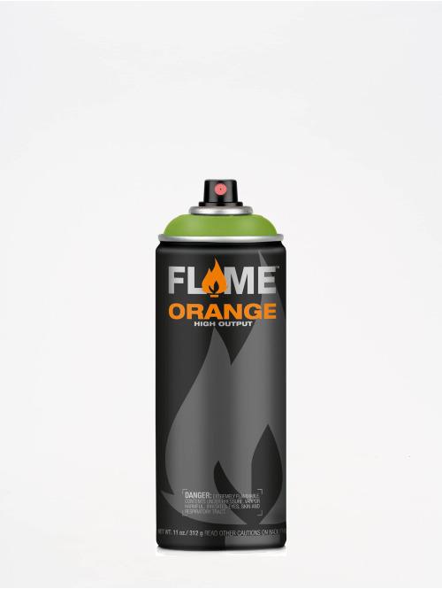 Molotow Spray Cans Flame Orange 400ml Spray Can 628 Grasgrün green
