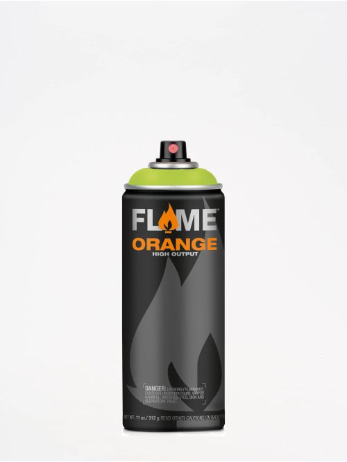 Molotow Spray Cans Flame Orange 400ml Spray Can 640 Kiwi Hell green