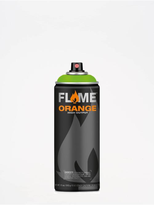 Molotow Spray Cans Flame Orange 400ml Spray Can 642 Kiwi green