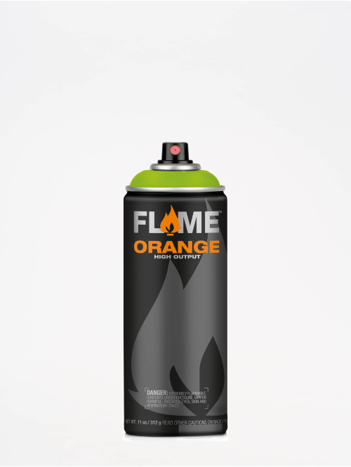 Molotow Spray Cans Flame Orange 400ml Spray Can 627 Crazy Grass green