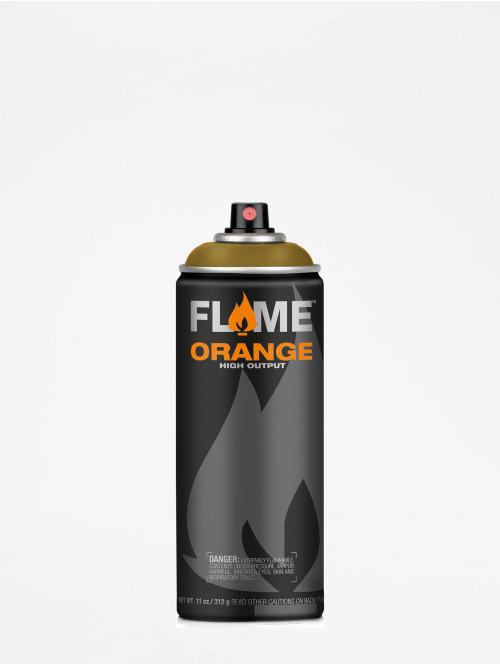 Molotow Spray Cans Flame Orange 400ml Spray Can 633 Khakigrün green