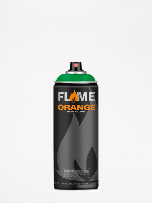 Molotow Spray Cans Flame Orange 400ml Spray Can 629 Saftgrün green