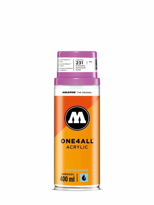 Molotow Spray Cans One4All Acrylic Spray 400ml Spray Can 231 Fuchsiapink pink