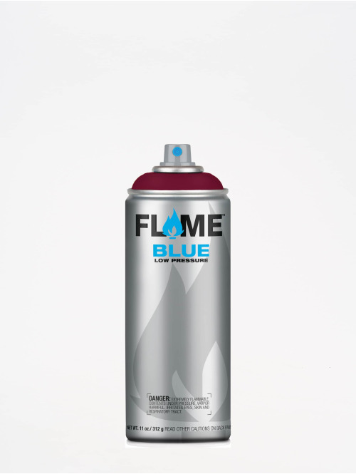 Molotow Spray Cans Flame Blue 400ml Spray Can 320 Burgundrot red