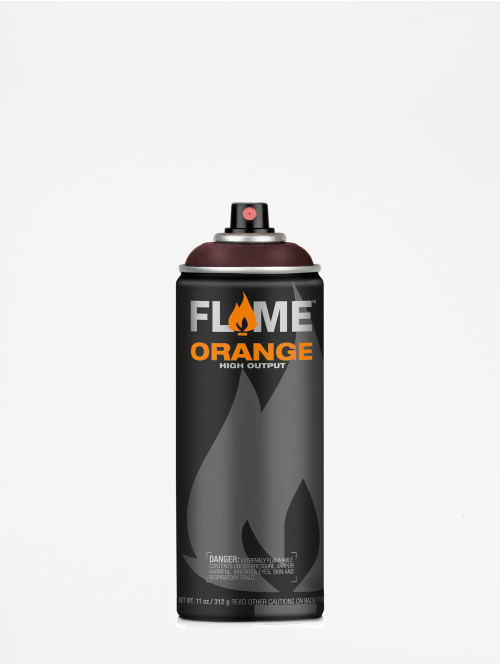 Molotow Spray Cans Flame Orange 400ml Spray Can 322 Aubergine red