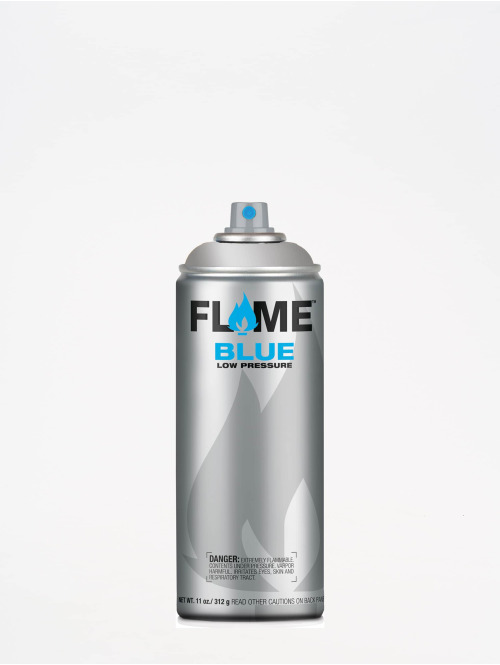 Molotow Spray Cans Flame Blue 400ml Spray Can 902 Ultra-Chrom silver colored