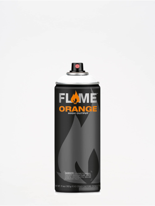 Molotow Spray Cans Flame Orange 400ml Spray Can 900 Reinweiss white