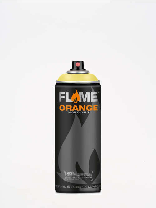 Molotow Spray Cans Flame Orange 400ml Spray Can 100 Vanille yellow