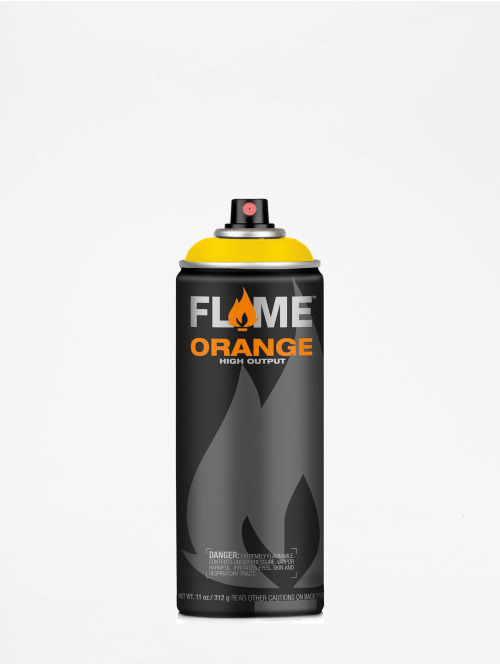 Molotow Spray Cans Flame Orange 400ml Spray Can 106 Signalgelb yellow