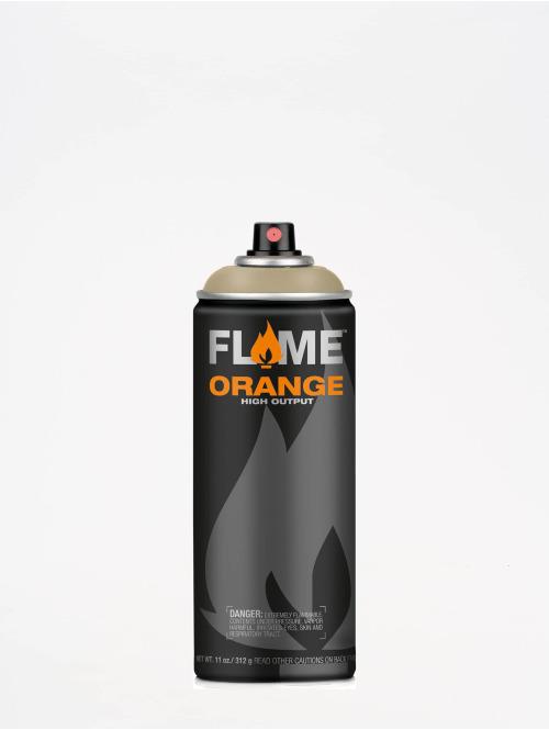 Molotow Spraydosen Flame Orange 400ml Spray Can 732 Graubeige Hell béžová