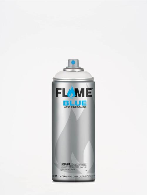Molotow Spraydosen Flame Blue 400ml Spray Can 900 Reinweiss bialy