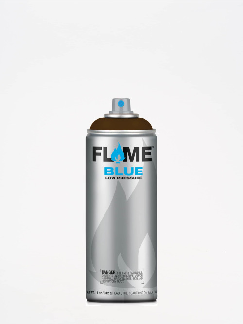 Molotow Spraydosen Flame Blue 400ml Spray Can 708 Nuss brazowy